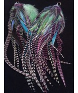 Colorful Owlita Style Blue Purple Green Whiting... - $120.00