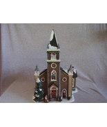St Nicholas Square Village Collection Christmas Chapel 2004 - $38.00