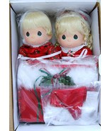 Collectible Precious Moments Twin Christmas Dol... - $215.00