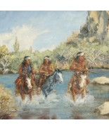 Out Of Bounds Southwest Indian Painting Limited... - $150.07