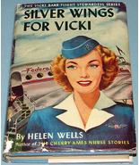 Vicki Barr #1 Silver Wings for Vicki 1947 Early DJ - $14.99