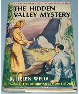 Vicki Barr #3 The Hidden Valley Mystery Tweed 1948 DJ - $19.99