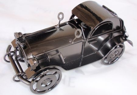 Antique classic car model A