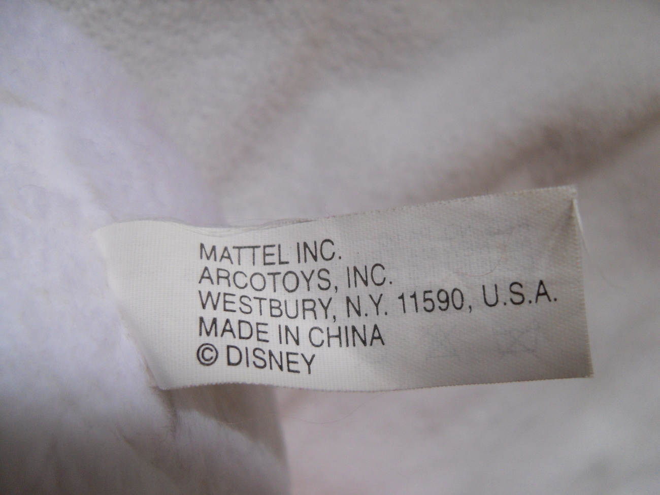 Daisy_duck_plush_toy_label