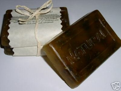 REAL PEPPERMINT Handmade Natural Vegan Glycerin Soap