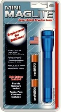 Mini Maglite 2-Cell Holster Combo Pack -Blue