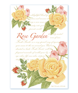 Fresh Scents Scented Sachets by Willowbrook Company - Rose Garden, 3 Packs