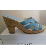 WOMAN SHOES, RSVP  CORK HEEL, SIZES 9 and 9.5 - $10.00