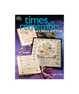 Times To Remember In Cross Stitch Patterns 110 ... - $18.99