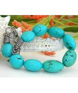 Peyote Bird Bracelet Sterling Silver Turquoise ... - $59.95
