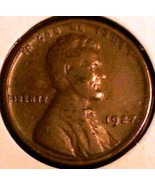 1927 Lincoln Wheat Cent - Grades VF BROWN - Bet... - $4.50