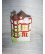 Village Miniature House Christmas Ornament - $3.00