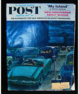 1961 Saturday Evening Post Soviet Propoganda more - $8.00