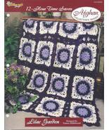Lilac Garden 12-Hour Time Savers Crochet Afghan... - £2.74 GBP