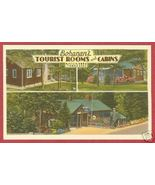 Gatlinburg Tn Bohanans Cabins Smokey Linen Post... - $6.50