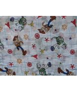Toy Story Twin Flat Sheet Buzz Lightyear Woody ... - $12.93