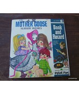Vintage Mother Goose Read and Hear Book w/Recor... - $20.00