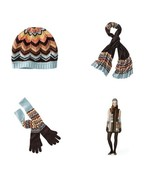 Missoni Womens Scarf/Hat/Pointelle Gloves Set o... - $124.95