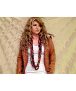 Crocheted Necklace Scarf....Beautiful Colors...... - $12.00