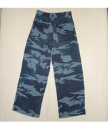 Canyon River Blues Navy Camo Pants 6 Pocket Car... - $5.97