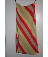 French Connection silk skirt striped new never ... - $12.95