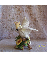 Fitz and Floyd Cockatoo Exotic Bird Collection Retired - $134.99