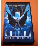 Vintage VHS Movie  Batman Mask Of The Phantasm ... - $10.00