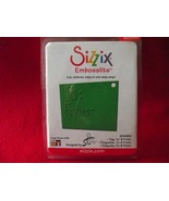 Sizzix  Embosslits die Tag, To & From #654962 n... - $5.99