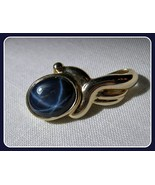 14k Gold Natural Blue Star Sapphire Pendant 5 c... - $495.00