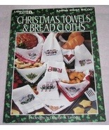 Christmas Towels and Bread Cloths Cross Stitch ... - $7.00