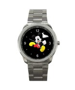 Mickey Mouse Sport Metal Watch IwB354 - $14.50