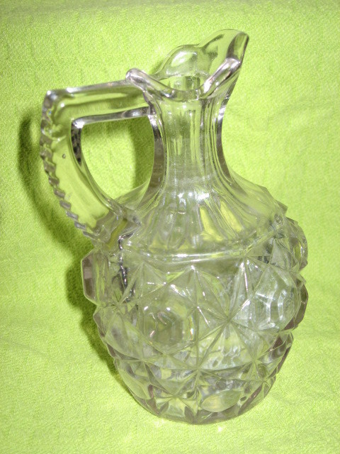 Cut Glass Cruet