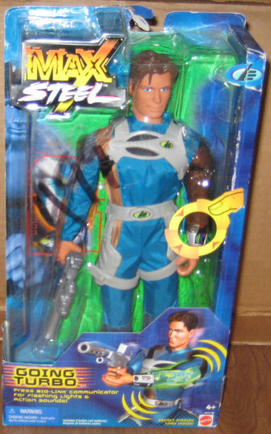 Max Steel GOING TURBO Figure MOC