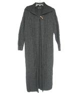 Blarney Woollen Mills Sz S Aran Long Cardigan D... - $105.00