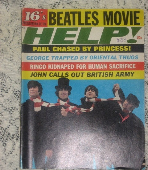 "16 Magazine:Beatles Movie ""Help""-1965"
