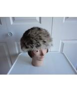 Vintage Gorgeous Coyote Fur Women Hat S 21¼ Vit... - $82.27