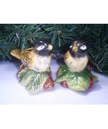 Set of Two Vintage Holiday Bird Ornaments - $6.00