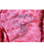 Harley-Davidson Tye Dyed Long Sleeve Blouse Riv... - $7.99