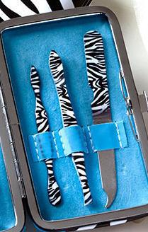 Image 2 of Blue Zebra Manicure Gift Sets