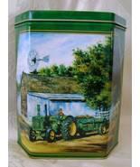 John Deere Tin, Autographed, R.L. Crouse  - $15.00