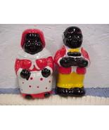 Mammy & Uncle Remos Salt & Pepper (Polka Dot) - $10.00
