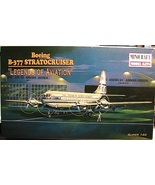 Boeing B-377 Stratocruiser airplane Minicraft Model kit 1:144 scale w Pan Am dec
