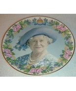 2000 Staffordshire England Bone China Elizabeth Queen Mother 100 Birthday Plate