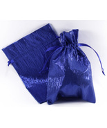 12 Jewelry Pouches Gift Bags Metallic Crinkled ... - $14.99