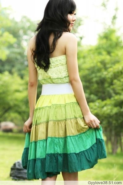 Ckl002_dress_back_green