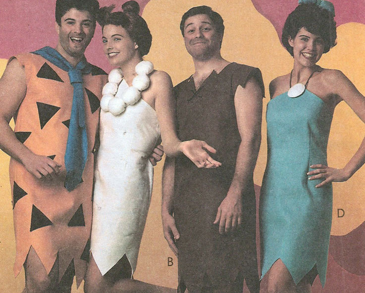 barney and betty rubble costume how to make