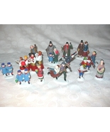 Dept 56 Heritage Village HV Lot Of 15 People Figurines - $30.00
