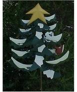 Yard Stake, Metal, Christmas Pine Tree - $25.00