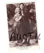 Tyrone Power and Sonja Henie Movie Stars Vintag... - $9.99