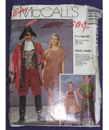 McCalls P397 Costume Pattern Peter Pan Capt Hoo... - $6.99